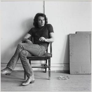 Brice Marden 1976 by Robert Mapplethorpe 1946-1989